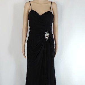NWT Alyce B'Dazzle A-Line Formal Gown  in Black